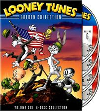 New 4 DVD Set- Looney Tunes: Golden Collection Vol 6 - RESTORED and REMASTERED