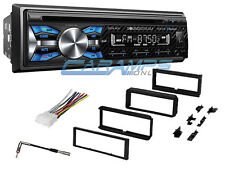 NEW SOUNDSTREAM CAR STEREO RADIO WITH BLUETOOTH & DASH INSTALL KIT & USB/AUX