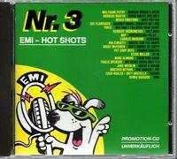 V.A. / EMI Hot Shots Nr. 3  1988 - CDP 518 820 - Promo CD Grönemeyer ,BAP, Petry