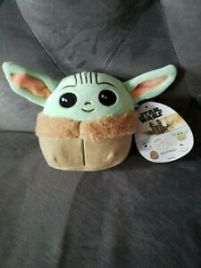 "New Squishmallow Disney Star Wars Plush 5"" Mini Baby Yoda The Child"