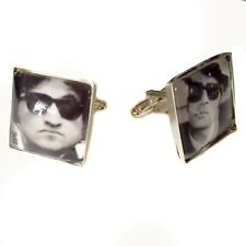 The Blues Brothers Jake and Elwood Glass Tile Cufflinks