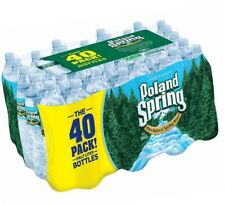 40 Count Case Poland Spring Bottled Water, 16.9 oz, 40 ct Free Shipping New