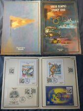 REPUBBLICA FOLDER GIOCHI OLIMPICI SYDNEY 2000 COMPLETO  NUOVO .