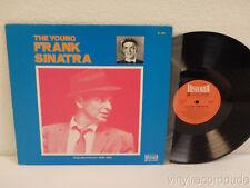 FRANK SINATRA The Young Frank Sinatra 1970 Germany LP Historia H-624