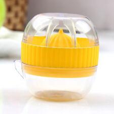 Mini Compact Hand Press Juice Juicer Squeezer Pour Lemon Lime Citrus Extractor