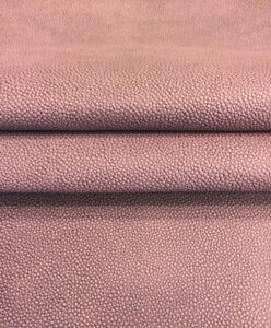 Pink Genuine Lambskin Leather Texture Hide Upholstery Fabric Craft Material 980