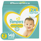 Pampers Swaddlers Diapers -(Select Size and Count) Preemie Newborn 1 2 3 4 5 6 7
