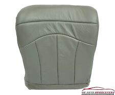 2000 Ford Lariat Super-Cab F150 Driver Bottom Leather Seat Cover Pewter/GRAY