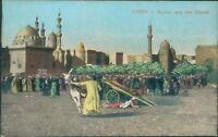 Cairo market near the citadel