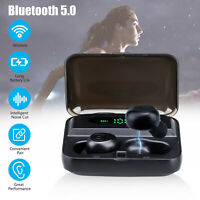 Bluetooth 5.0 Headset TWS Wireless Earphones Twins Earbuds Stereo Headphones