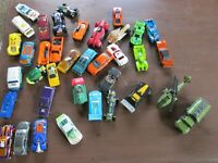 Lot 37 Toy cars Matchbox hotwheels and more