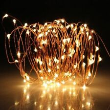 100LED 10M Copper Wire LED Twinkle Light Warm White String Fairy Lights Xmas