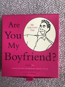 """ Are You My Boyfriend"" 12 Cards And Envelopes."