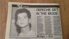 More details for depeche mode 'speak and spell' review 1981 uk article/clipping