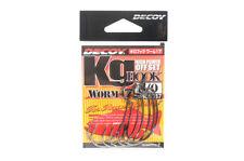 Decoy Worm 17KG High Power Offset Worm Hooks Size 3/0 (8047)