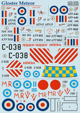 Print Scale 1/72 Gloster Meteor F.4 and F.8 # 72233