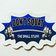 Powerlifting & Weightlifting Sticker