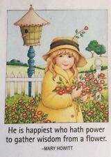 Mary Engelbreit Artwork-He Is Happiest-Handmade Magnets