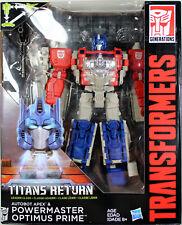 Transformers ~ POWERMASTER OPTIMUS PRIME ACTION FIGURE ~ Leader ~ Titan's Return