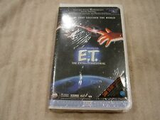 ET E.T. The Extra-Terrestrial Original NEW VHS Movie Tape 1982 Clamshell NEW