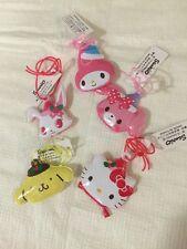 Hello Kitty Melody Purin Jewelpet Bonbon Ribbon Trinket Sanrio Japan Pillow Head