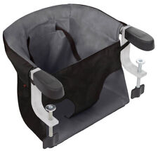 Mountain Buggy Pod V3 Portable Clip on Highchair (flint) With Carry Bag