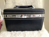 Vintage Samsonite Profile II Carry On Hard Shell Train Case Black No Keys