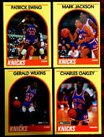 1989/90 Hoops PATRICK EWING  + 3 ~ YELLOW BORDER SEARS CARDS ~ A LOT OF FIVE!!!!