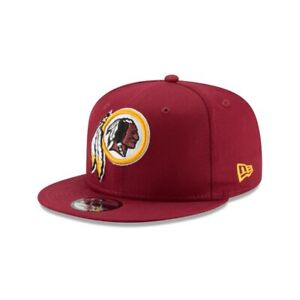 WASHINGTON REDSKINS 9FIFTY NEW ERA HAT MAROON SNAPBACK