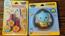 Lip Smacker Dumbo Balm Cookies & Cream Favor And Manicure Set