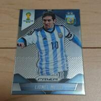 2014 Panini Prizm World Cup Lionel Messi World Cup #12 Soccer Card From Japan