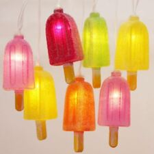 Ice Lolly Light Chain - 12 LED String Lights - Battery Powered