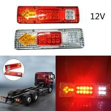 2x LED Tail Light Truck UTE Trailer Stop Indicator Lights 12V-24V For Caravan