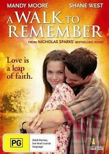 A Walk To Remember (DVD) Mandy Moore Shane West [All Regions] NEW/SEALED