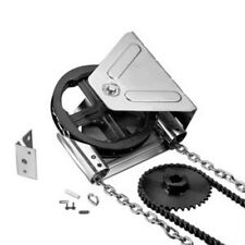 "Garage Door Chain Hoist - Jackshaft 4:1 Reduced Drive -1"" shaft - WALL MOUNT"