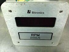 Bitronics THTIE1 Digital RPM Meter