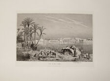 Ludwig Hans Fischer Nil Cairo Kairo Ägypten Wüste Beduinen Orient Moschee Egypt