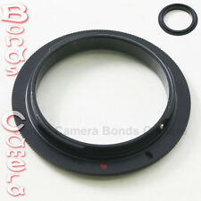 58 MM 58MM Macro Reverse Lens Adapter Ring For Canon EOS mount EF DSLR camera