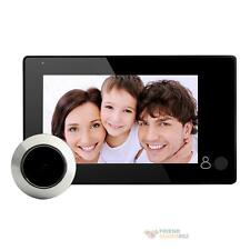 "4.3"" LCD Digital Video Door Viewer Peephole 145° Wireless Door Eye Security"