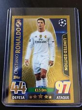 Rare Ronaldo Gold Limited Edition LE1 Topps Match Attax Champions League 2015-16
