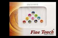 Bindi Strass Bollywood Colours Bindi Dot Diamante Bijoux Skin 6 MM 374