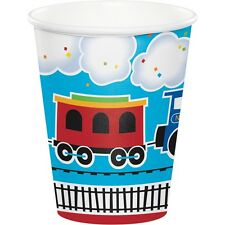 All Aboard Train Birthday Party Supplies Cup