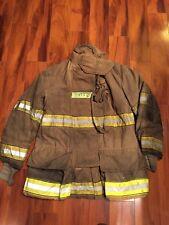Firefighter Globe Turnout Bunker Coat 46x35 2001 Halloween Costume