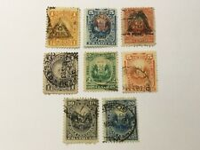 old stamps   PERU   x  8
