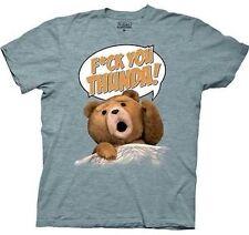 Authentic Ted The Movie F*** You Thunda Teddy Bear Adult T Shirt Small