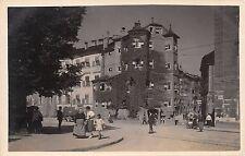 Foto AK Innsbruck Ottoburg Strasse belebt Auto LKW Postkarte vor 1945
