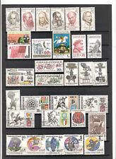 N°237,238 - Tchécoslovaquie - ( 1970-71 ) - 70 timbres oblitérés