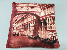 Digital Printed Colorful Reversible Venice Silk Cushion Covers 45x45 Pack of 5