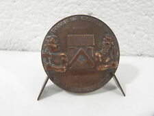 Medaille bateau KITALA 1957 Forges chantiers mediterranée bronze 44mm