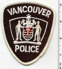 Vancouver Police (Canada) Shoulder Patch from the Early 1980's